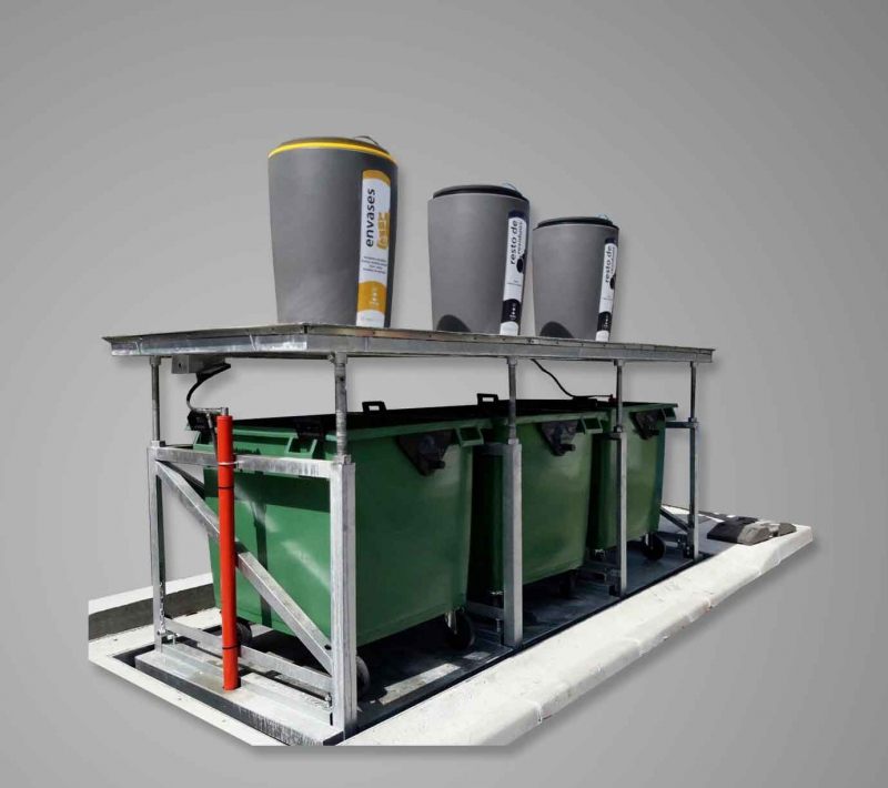 Undergound container system