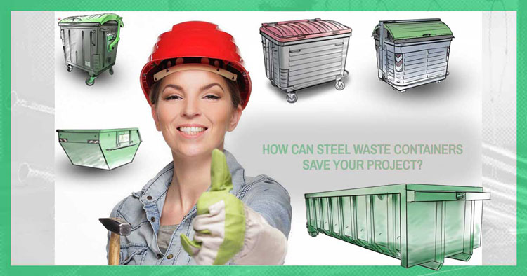 Featured steel waste containers 750px