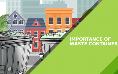 Importance of waste containers