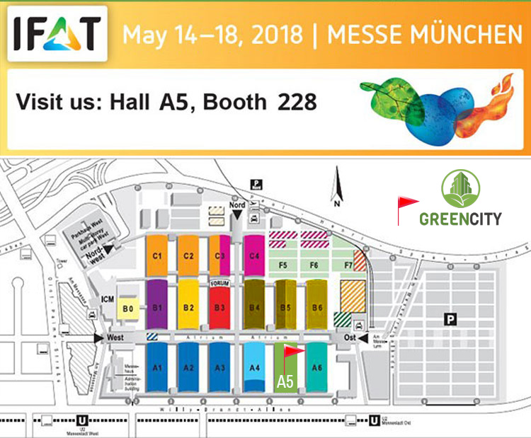 GCI IFAT 2018 banner traid fair May 2018