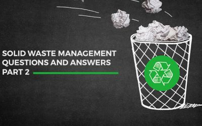 Solid waste management questions and answers (part 2)