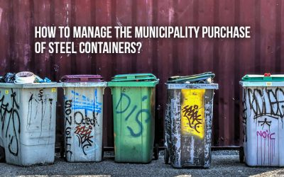 How to manage the municipality purchase of steel containers