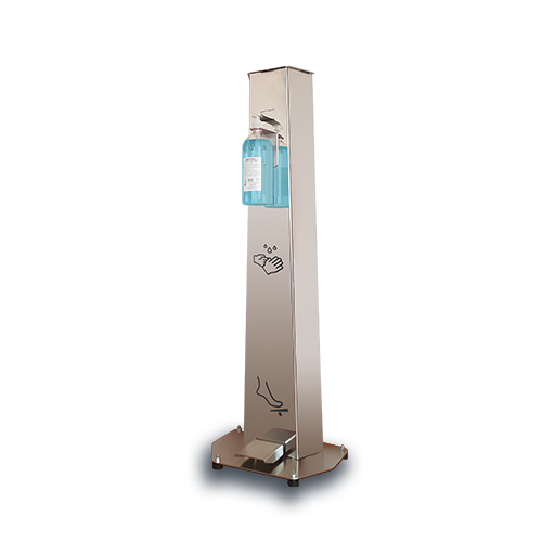 Foot-operated, Hands Disinfection Station-(HDS)
