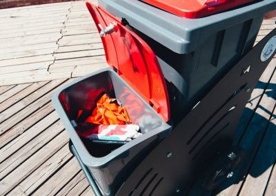 Outdoor Cleaning Trolley