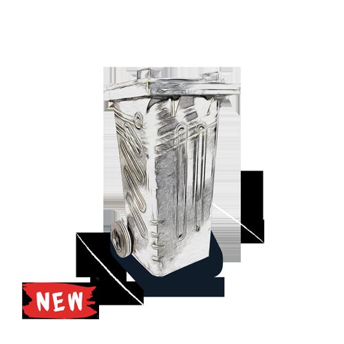 Steel Bins 120 240 360 liter