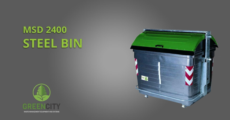 msd 2400 steel container by GCI