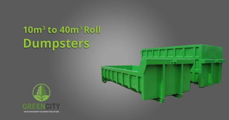 roll off containers 10m3 to 40m3