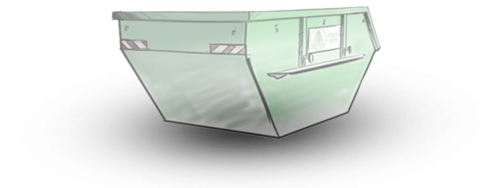dumpster sketch
