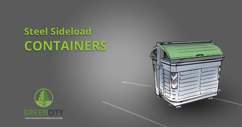 steel sideloadcontainers